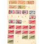 Estados Unidos, Resto De Coleccion 163 Sellos En 6 Hojas