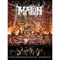 Malon El Regreso Mas Esperado ( Dvd + Cd)