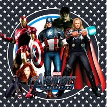 Kit Imprimible Los Vengadores Avengers Candy Bar Deco Invita