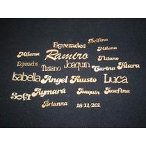 10 Nombres Fibrofacil 6cmx1.50xcm En Laser Maderarte