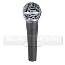 Microfono Profesional Shure Sm58 Lc Mexico Dinamico Vocal