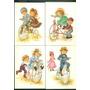 4 Tarjetas Postales Bicicletas Y Triciclos España Constanza