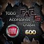 Pasarrueda Trasero Interior Fiat 600 Y Mas...