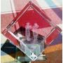 Cubo De Vidrio Con Rabinos En El Muro - Israel - Importado