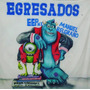 Banderas De Egresados/ Fútbol / Bandas / Aerografia