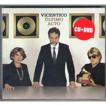 Vicentico Ultimo Acto Cd+dvd ( Ya Disponible A La Venta)