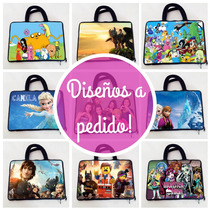 Funda Netbook 10 12 13 Personalizada / Ideal Net Gobierno!