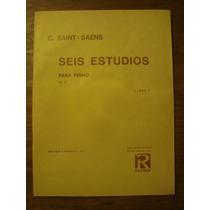 Saint Saens Seis Estudios Para Piano Libro 1