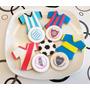 Futbol Cookies/galletitas Tematicas Personalizadas