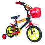 Bicicleta Rodado 12 Para Nene Cars Licencia Oficial Envios