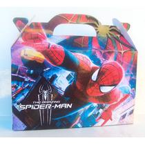 Spiderman Valijita Golosinera El Hombre Araña (pack X70)
