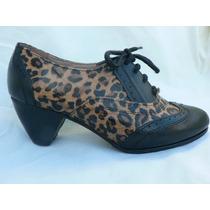 Zapato Acordonado Calidad Super Ash Nº 36 Fortu13
