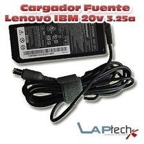 Cargador Notebook Lenovo 20v 3.25a Pin Fino G450 G530 G230 S