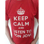 Buzos Y Remeras Keep Calm And Listen To Bon Jovi !