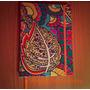 Cuaderno Artesanal Tela Rayado 100 Hojas 15,5x21 Cm Otoño