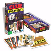 Clue Cartas Juego De Detectives Original Hasbro Mundo Manias