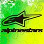 Sticker, Calco, Alpinestars, Autos, Notebooks, Compu, Etc