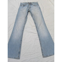 Pantalón De Jean Celeste Rosh Usado Talle 24