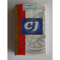 Marquilla Cigarrillos, Cj (caja Blanca), X20 Full - Abierto