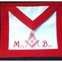 Mandil Masonico, Tunica, Medallas, Mallete, Pin Y Mas