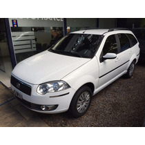 Fiat Palio Weekend 1.4 Attrative 2011 Blanca