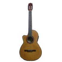 Guitarra Criolla Gracia Modelo M8 Eq Ecualizador Para Zurdo