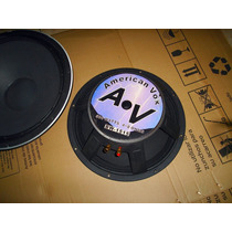 Parlante Av American Vox 15 Woofer 500w Impecable Mira!! Rcf