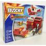 Blocky Cuartel De Bombero Con Vehiculos