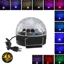 Luz Led Bola Crystal Magic Ball Light Fiesta Dj 1 Año Gtia