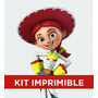 Kit Imprimible Toy Story Yesi Cumple Invitación Banderines