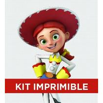 Kit Imprimible Toy Story Yesi Cumple Invitación Banderines