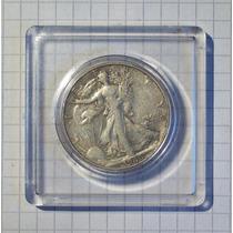 Estados Unidos ½ Dólar Plata 1946 S Encapsulada