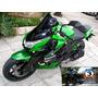 Cupula Parabrisas Elevado Kawasaki Z 1000 En Ruta 3 Motos