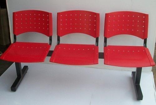 Tandem de tres cuerpos ideal sala de espera for Sillas para sala de espera