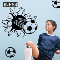 Vinilos Decorativos Infantiles Futbol Pelota Bebe Nene