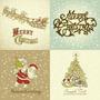 100 Postales De Navidad Impresas Laser 10cm X 15cm (caba)