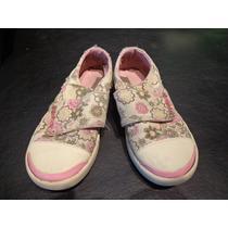 Zapatillas Reebok Estampadas Con Velcro Talle 28