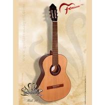 Guitarra Criolla Clásica Fonseca 45 - Con Funda Acolchada