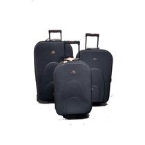 Valija De Viaje Set X 3 Premium 2 Ruedas Fuelle Nueva Oferta