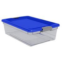 Organizador, Caja Organizadora Plastica, Hermetico De 40 Lts