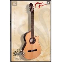 Guitarra Electroacustica Fonseca 41ke 1/2 Caja Nyloncriolla