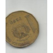 Dominicana Moneda De Un Peso 1992