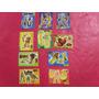Lote 10 Cromos Troquelados Originales Disney Españoles.