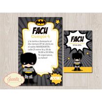Candy Bar: Kit Imprimible Batman Kids Superhéroe Batichica