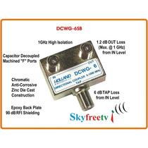 Tap Holland Dcwg-6sb Usa Spliter Tv Catv Divisor Skyfreetv