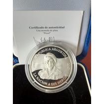 2007 - Moneda De Plata Proof - Malvinas Argentinas 25 Aniv.