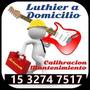 Luthier Calibración A Domicilio Guitarras Y Bajos - Arteroh