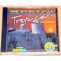 Musica Tropical De Colombia Vol 4 Sonora Dinamita +oa Cd