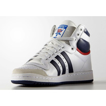 Zapatillas Adidas Top Ten Hi Leather Originals Importadas