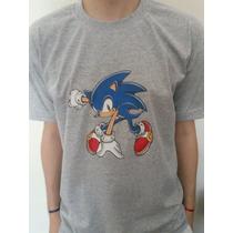 Buzos Y Remeras Estampadas Sonic !